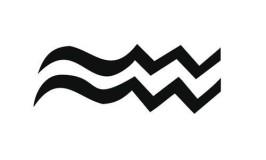 Zodiac Symbol Aquarius