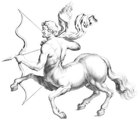 Sagittarius Zodiac Symbol Centaur the Archer